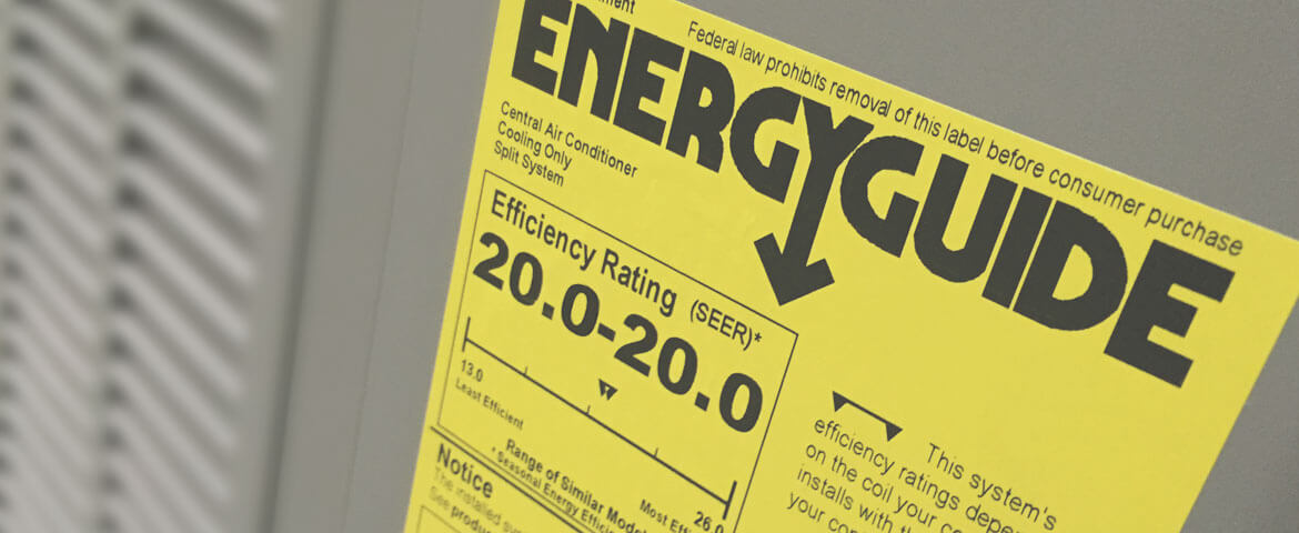 energy ratings for HVAC