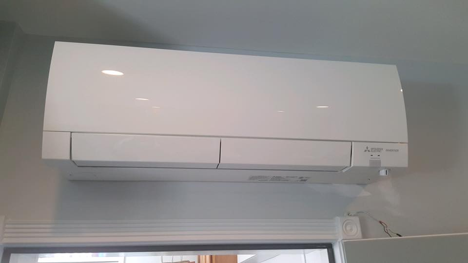 mitsubishi mini split unit indoor unit