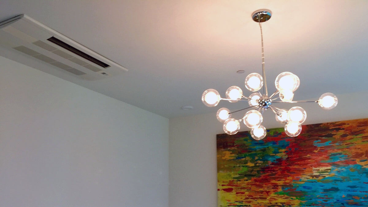 Ceiling Mounted Ductless Unit